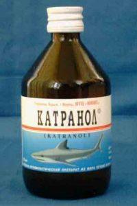 Препарат из печени черноморской акулы катран.Содержит незаменимые...